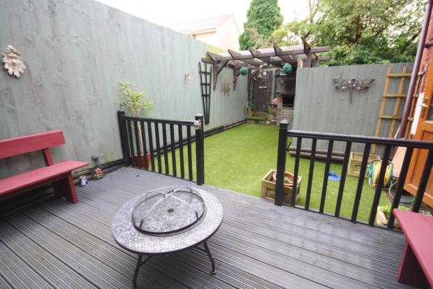 Second Garden Area