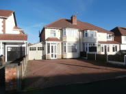 semi detached house in GRANGE LANE, FOUR OAKS...