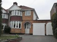 4 bed semi detached home in Parkhill Road, Walmley...