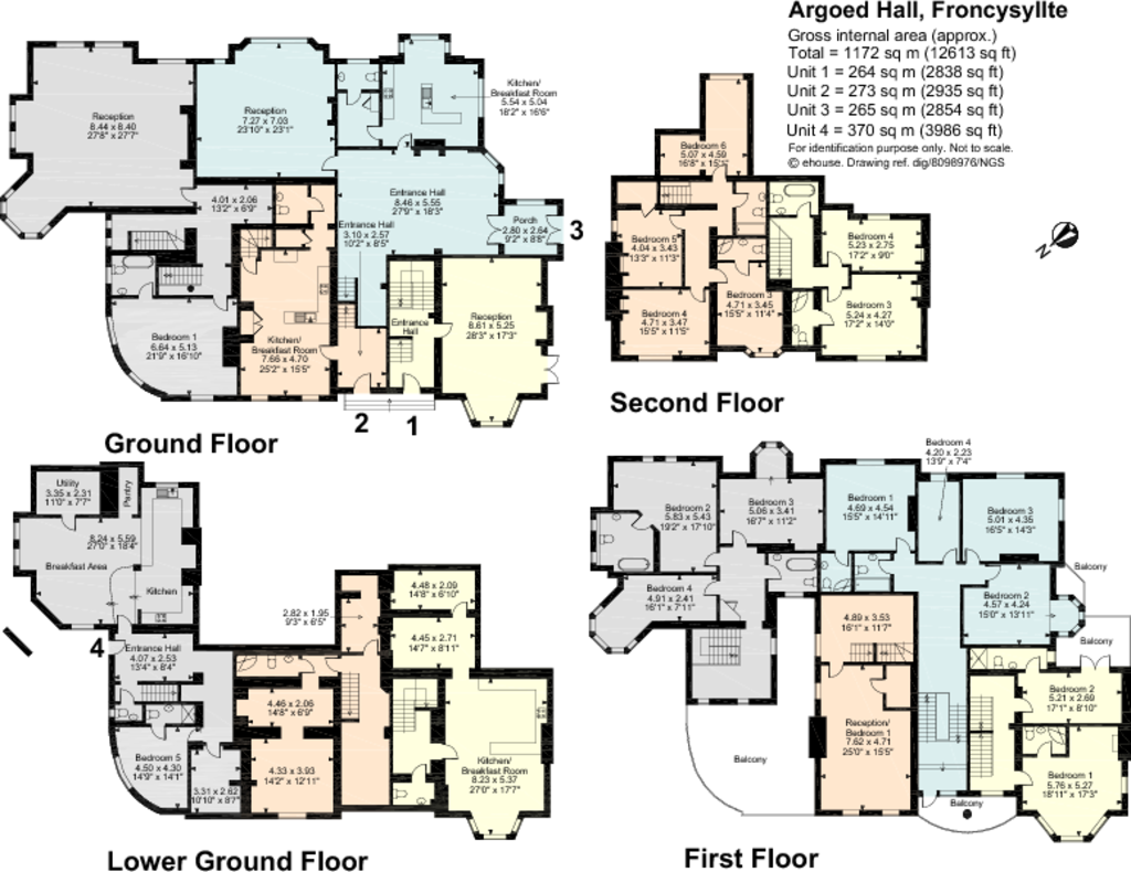 4 bedroom detached house for sale in argoed hall for 11th century castles floor plan