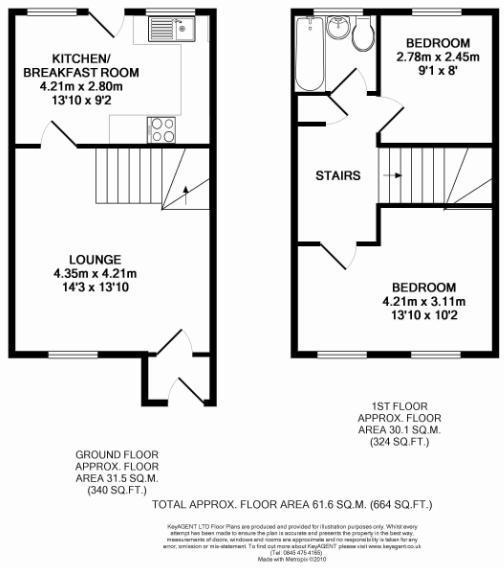 2 bedroom house for sale in penn lane runcorn wa7 for 16 brookers lane floor plans