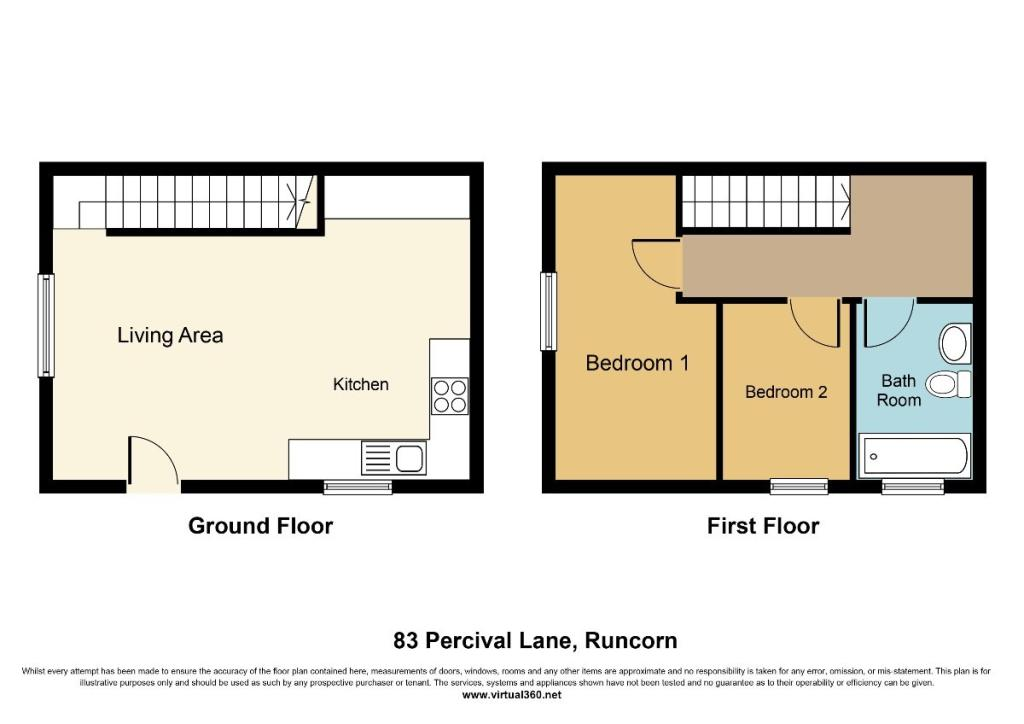 2 bedroom house for sale in percival lane runcorn wa7 for 16 brookers lane floor plans