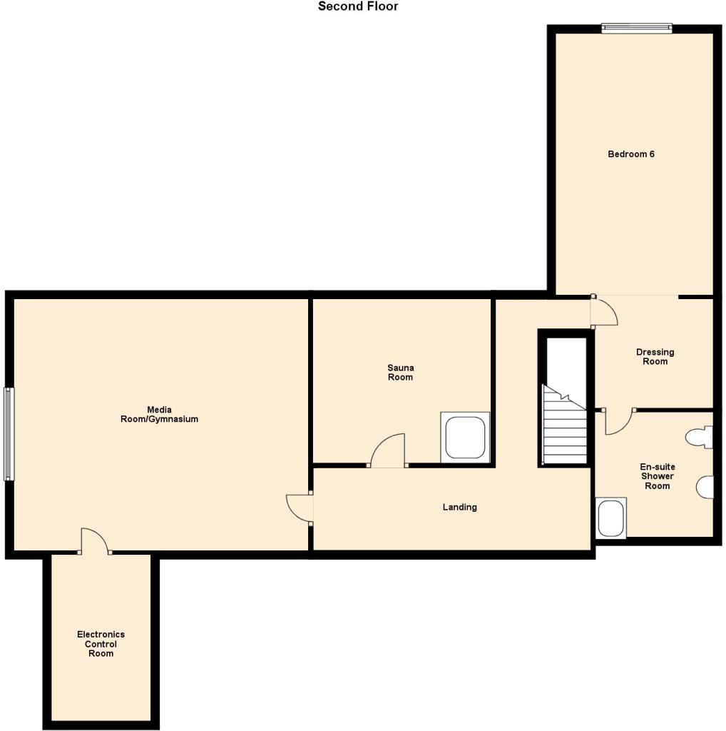 6 bedroom detached house for sale in chorley hall lane for 16 brookers lane floor plans