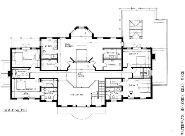 Floorplan - First Fl