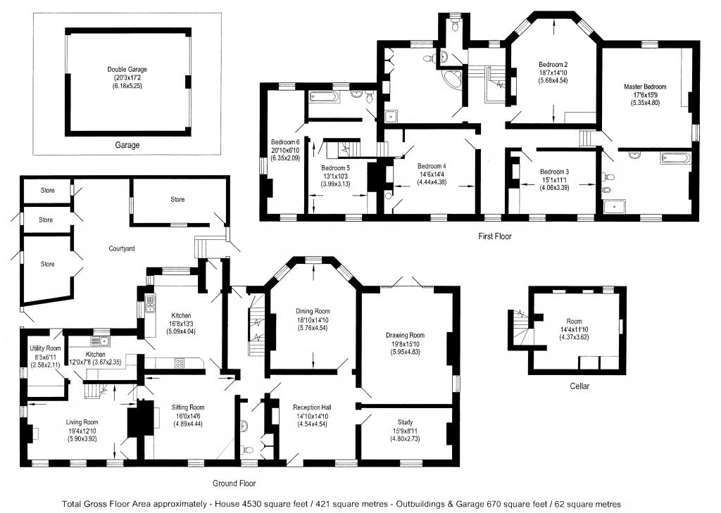 6 bedroom detached house for sale in byron 39 s lane for 16 brookers lane floor plans