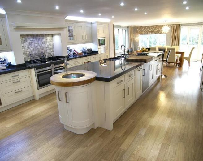 Open Plan Beige Kitchen Design Ideas Photos Inspiration Rightmove Home Ideas