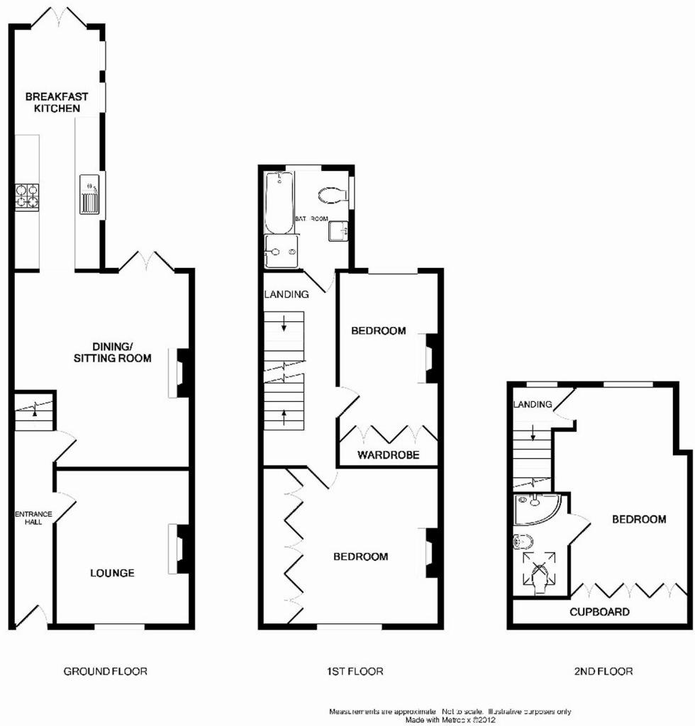 Uk terraced house floor plans house design plans for Houses and plans