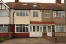 Terraced house in Buxton Crescent, Cheam...