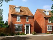 4 bedroom new house in Longstork Road Rugby...