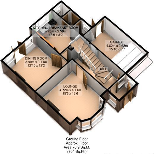 FLOOR PLAN: 3D GND F