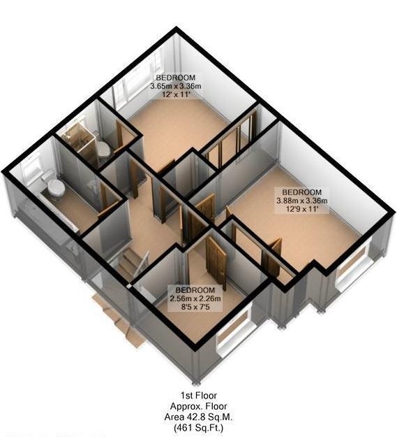 FLOOR PLAN: 3D: FIRS