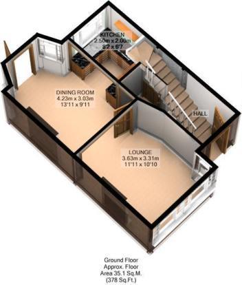 FLOOR PLAN: 3D: GND