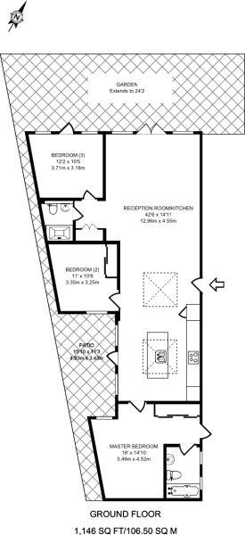 Floorplan - Representation of current layout, internal floor area approx.