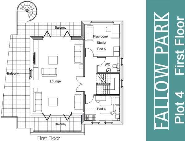 Plot 4 First Floor