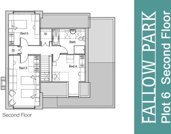 Plot 6 Second Floor