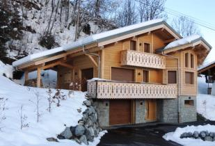 4 bedroom Chalet in Newly built in 2015. 4...