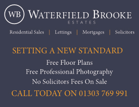 Get brand editions for Waterfield Brooke Estates, Folkestone