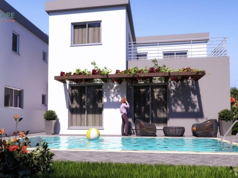 3 bed new development for sale in Pindou, Pafos, Cyprus
