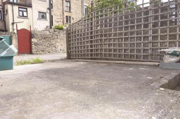 Rear Driveway/Yard