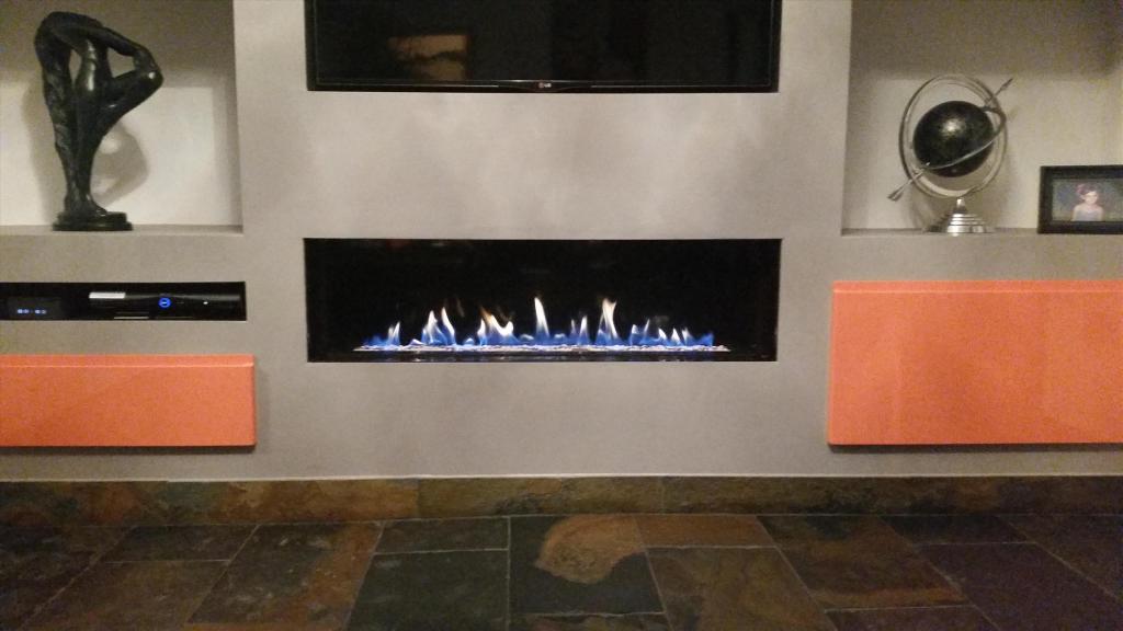 Contemporary Firepla