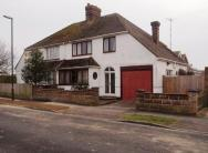 semi detached property for sale in Alexandra Road, Lancing...
