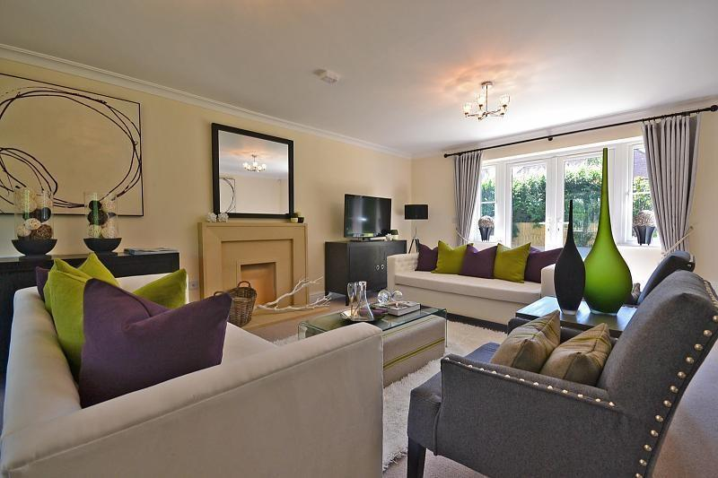 Show home sitting room