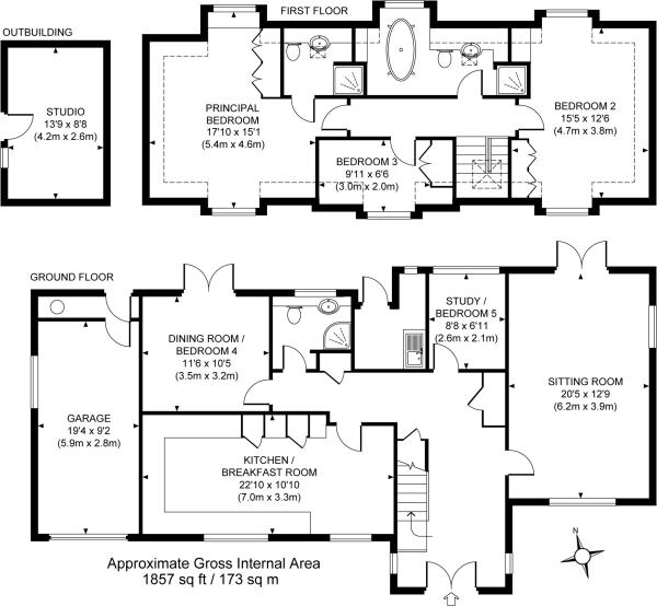 Pin bungalow chalet floor plan on pinterest for Chalet bungalow floor plans uk