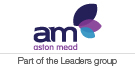 Leaders incorporating Aston Mead, Weybridge logo