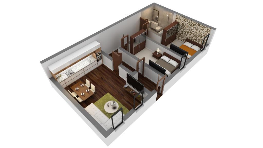 Apartment 2 & 3
