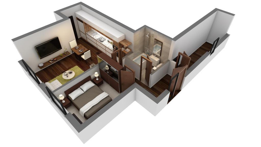 Apartment 4, 8 & 12