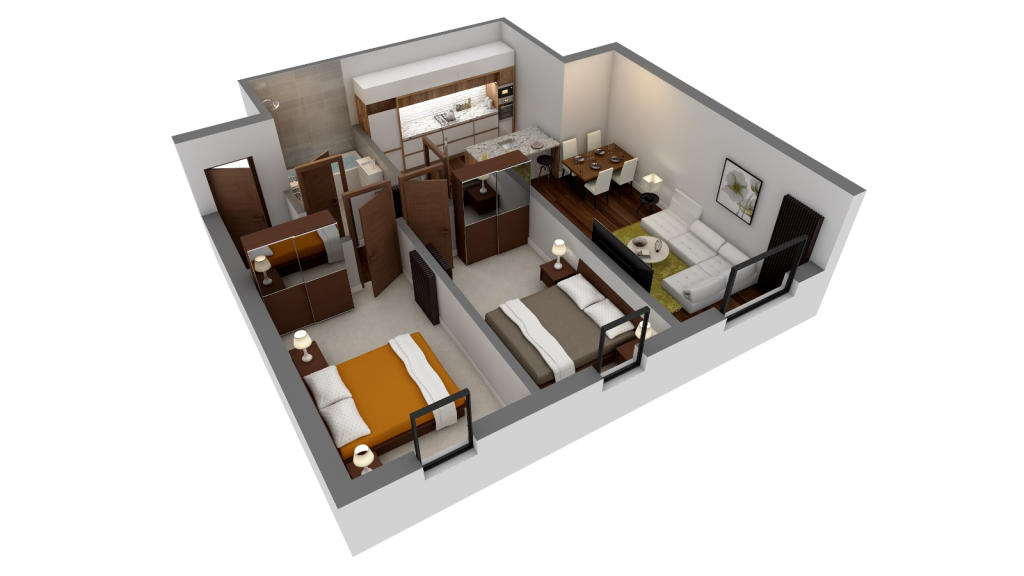 Apartment 9 & 13
