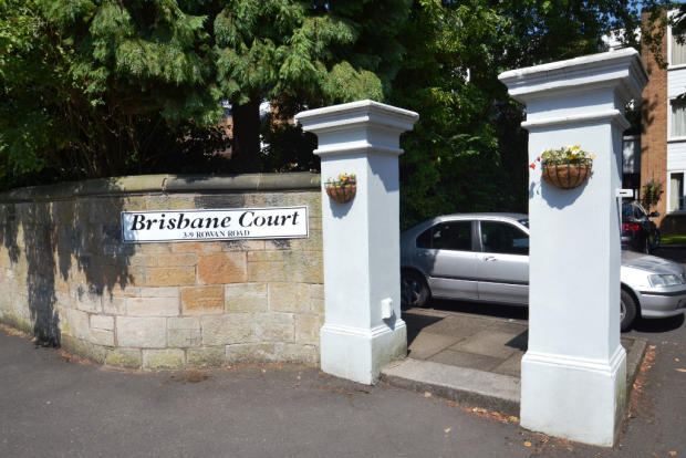 Brisbane Court Entrance
