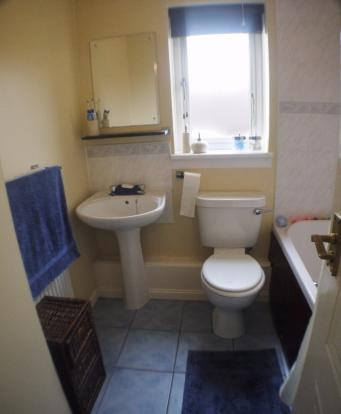 3 bedroom semi detached house for sale in auchentiber for Bathroom design kilmarnock