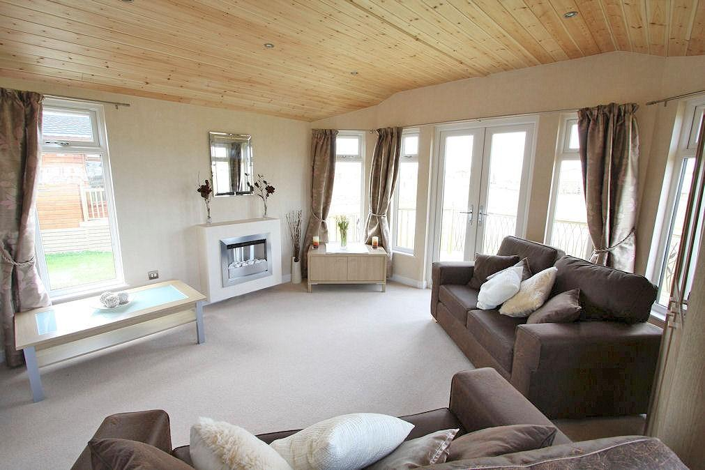 2 Bedroom Log Cabin For Sale In High Farm Country Park