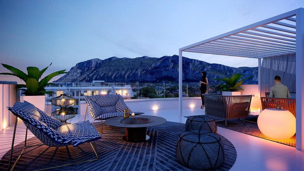 2 bedroom new Apartment in Denia, Alicante, Valencia
