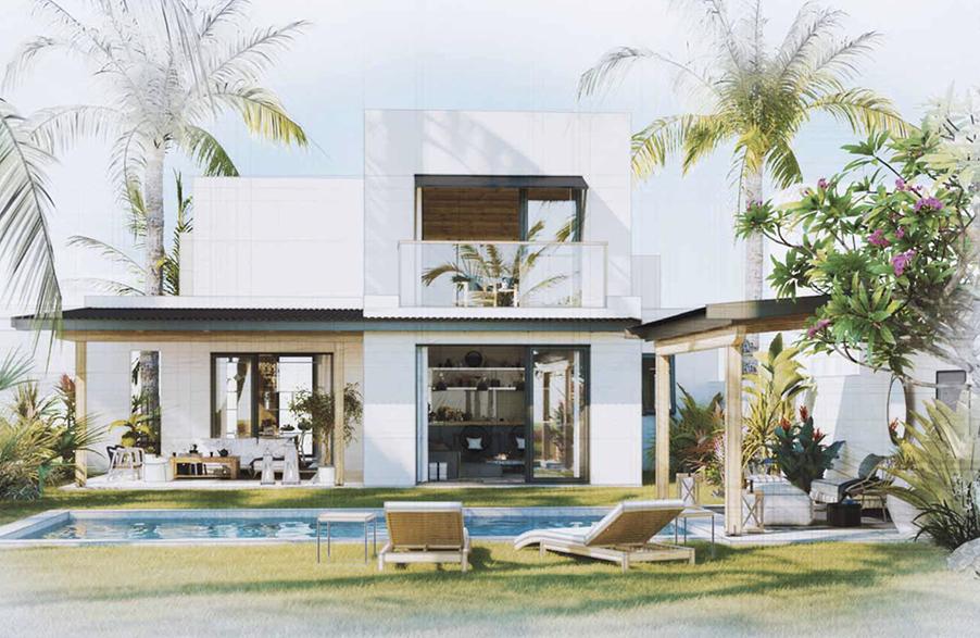 new development in Rivere Du Rempart