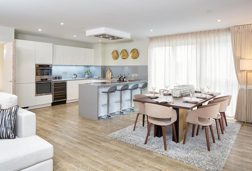 Nine Elms Point,Kitchen