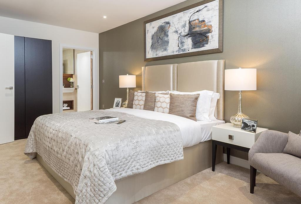 Nine Elms Point,Master Bedroom