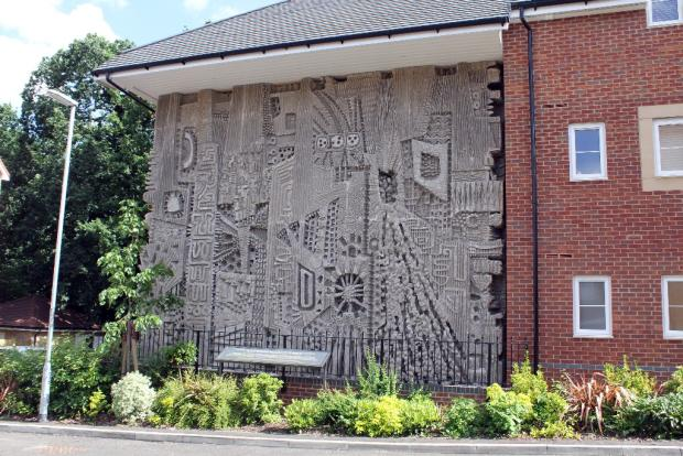 Listed Mural