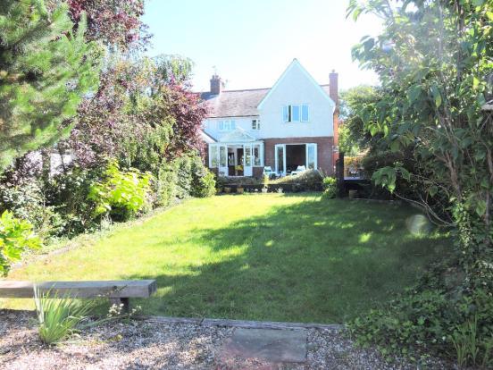 Rear House & Garden