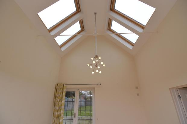 Vaulted Dining Area
