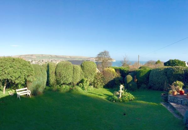 View from the Rear Garden