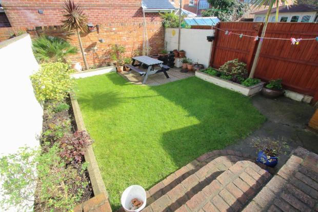 Garden & Side of Property
