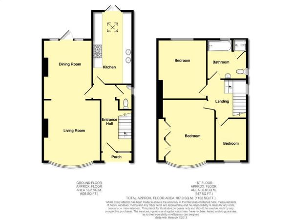 3 bedroom semi detached house for sale in abbots grange for 3 bedroom house extension ideas