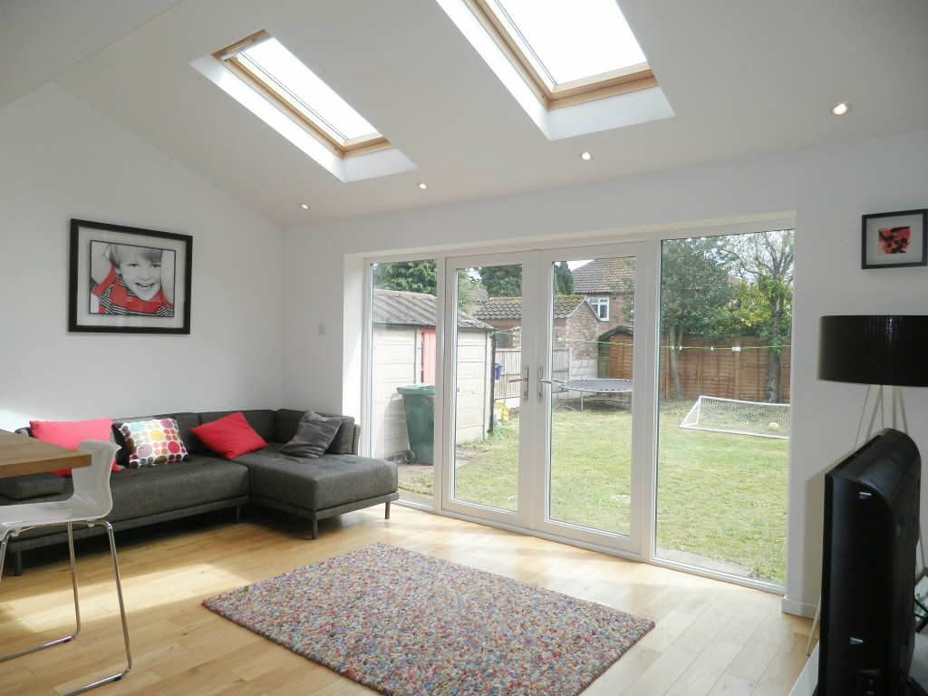 3 bedroom semi detached house for sale in orchard close for Room extension plans