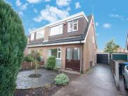 semi detached house for sale in Worthington Road, Sale...