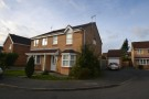 semi detached house to rent in Merlin Close...