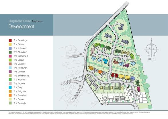 Methven Site plan v1