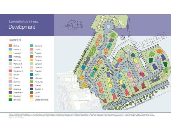 Site Plan - Levenfie
