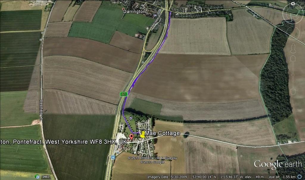 Route Avoiding A1
